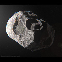 3d model asteroid 1