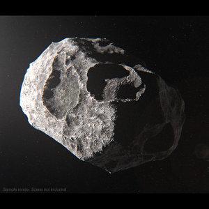 3d model asteroid 1