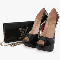 Collection Louboutin Vuitton