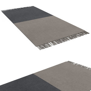 max two-tone rug