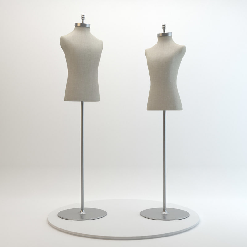 3d mannequins domenico vacca model