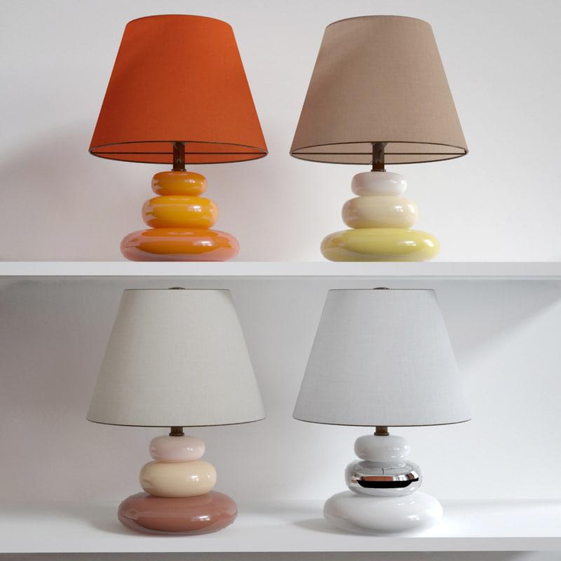 3d lamp colors
