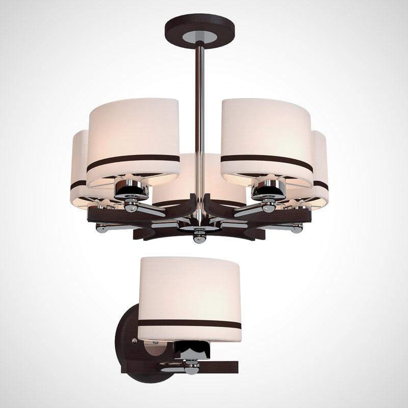 lamp bra 3d model