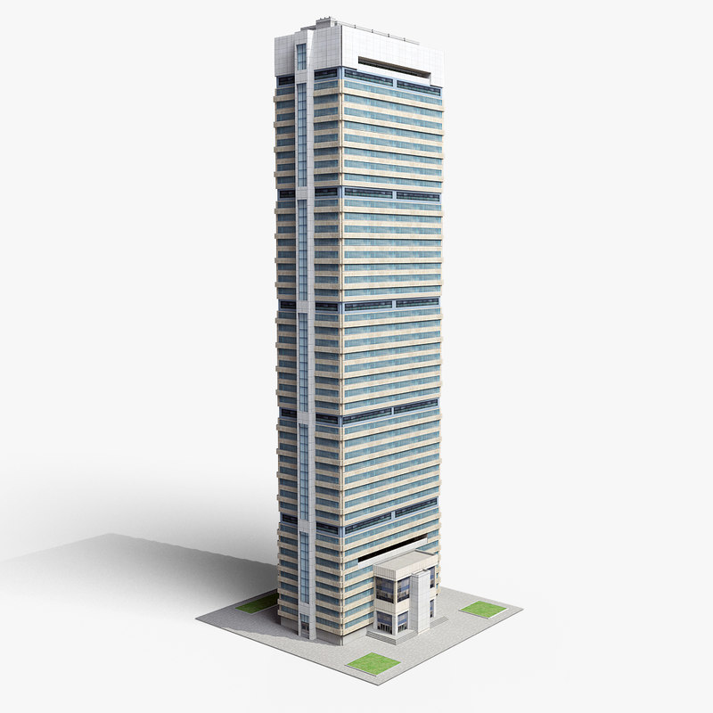 3d model skyscrper