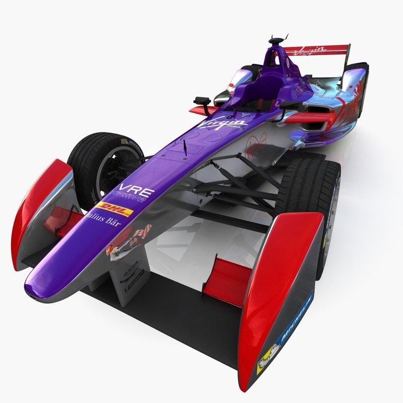 virgin formula e race car max