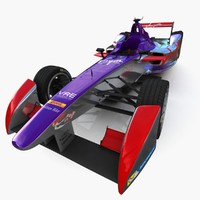 virgin formula e race car max