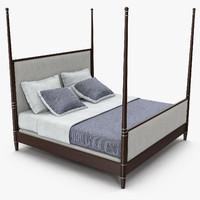 hickory furniture - tompkins 3d 3ds