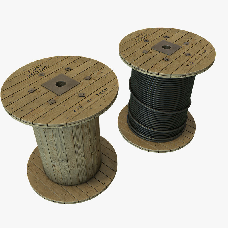 coiled polys 3d model