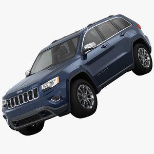3d jeep grand cherokee suv