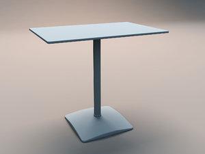 little table 3d model