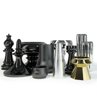 fbx decorative vases