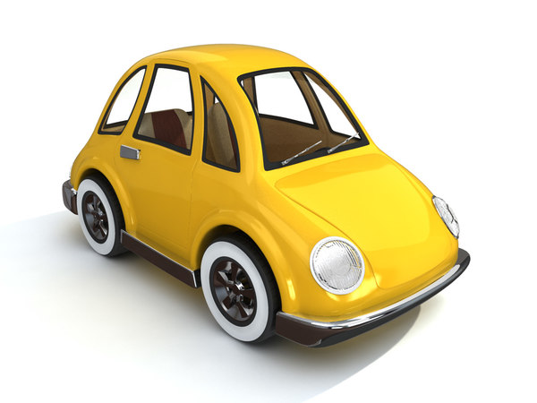 3d cartoon cute car