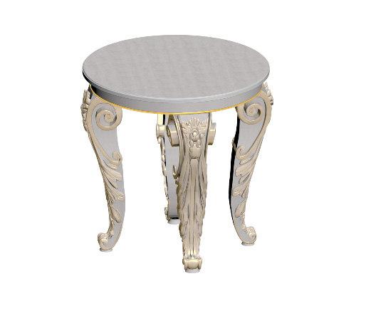 3ds max table barocco