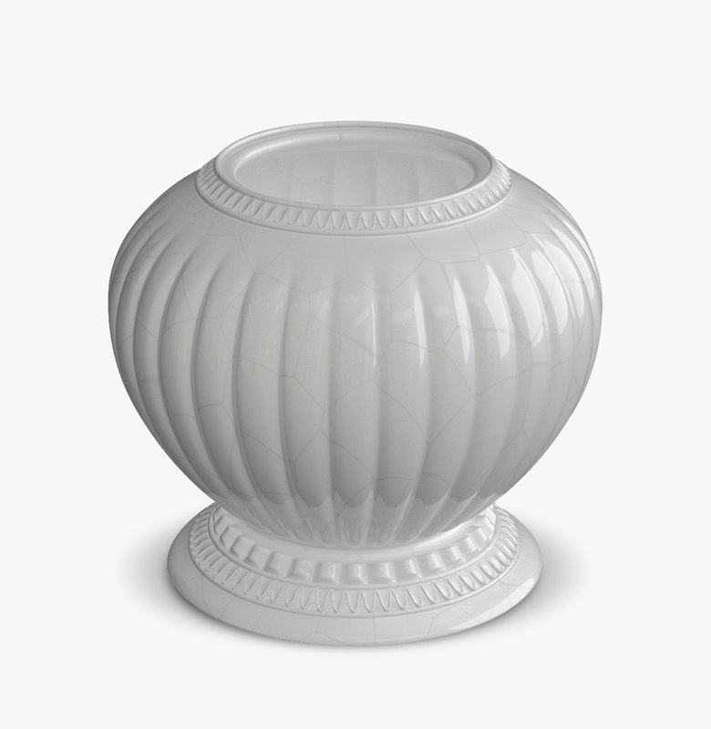 baroque vase 3d model