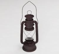 3d model vintage camping lantern
