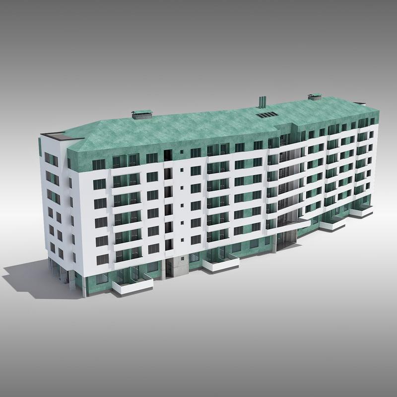 copper house apartment 3d model
