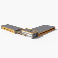 market warehouse hypermarke 3d model