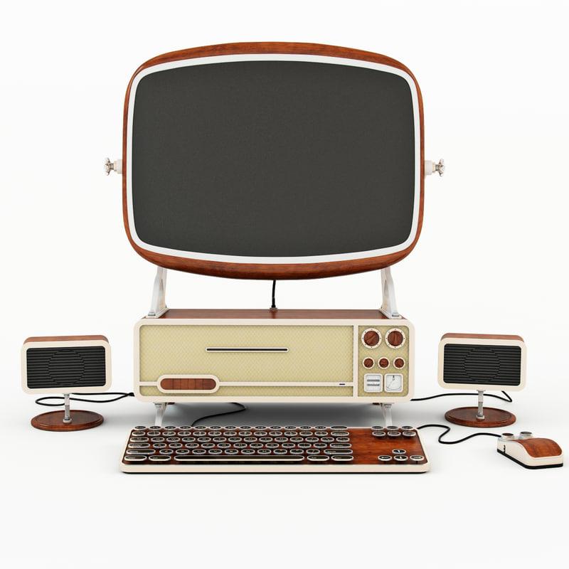 old computer 3d max