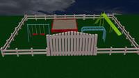 3dsmax playground bars box