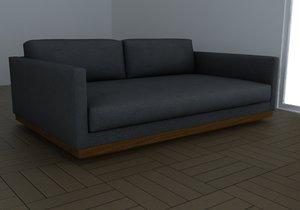 3d model sofa casa bonita