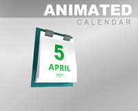 Animated Calendar