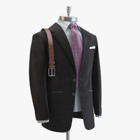 3d grey suit domenico vacca