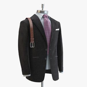 3d grey suit domenico vacca