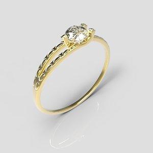 3d ring wedding