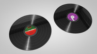 cinema4d vinyl records