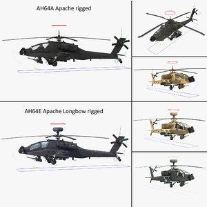 ah64e apache longbow ah64a 3d max