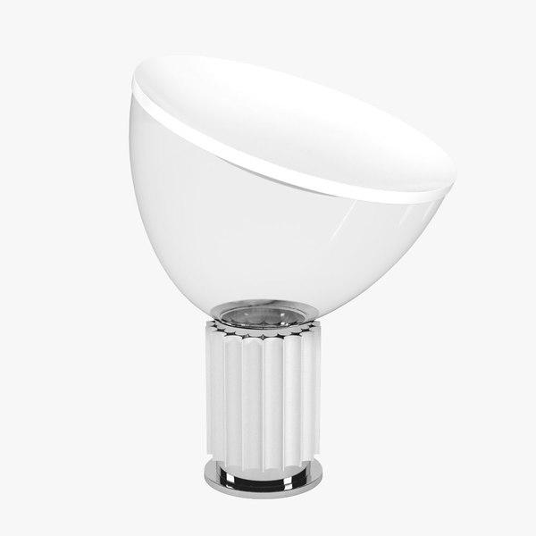 floss taccia lamp light 3d model