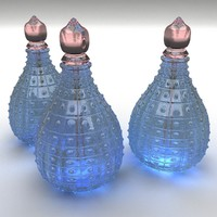 3ds max perfume blue