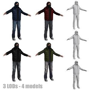 3d model rebel