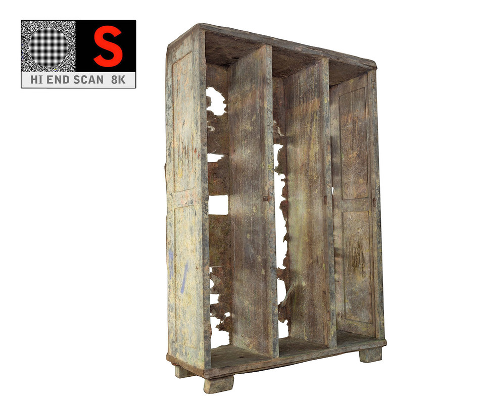 scan haunted wardrobe 3d model