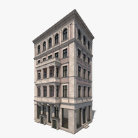 3d c4d house berlin facade building