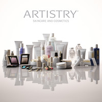 cosmetic artistry 3d max