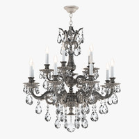 schonbek chandelier 5882-86a 3d model