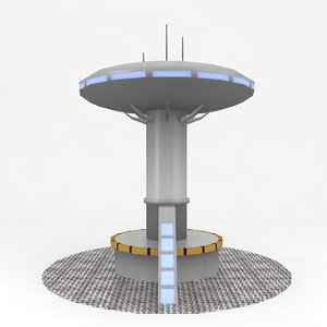max sci-fi tower