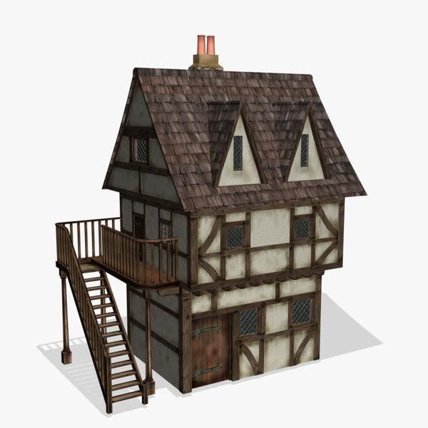 medieval fantasy house max