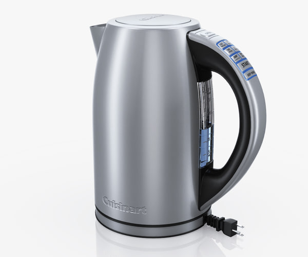 electric kettle cuisinart cpk-17 3d model