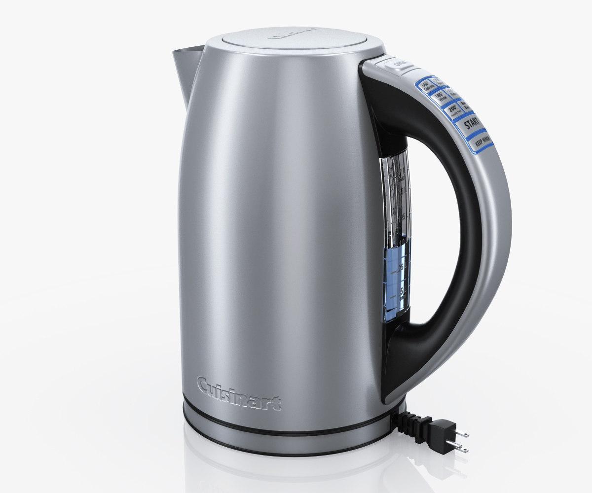 electric kettle cuisinart cpk-17 3d model