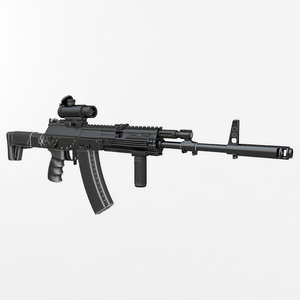 kalashnikov ak-12 newest 01 3d model