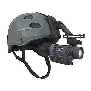 3dsmax special forces helmet