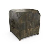 3d model cubo table