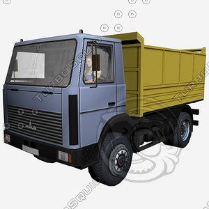3d truck model
