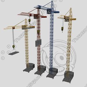 3ds max crane derrick