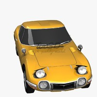 3ds max toyota 2000gt