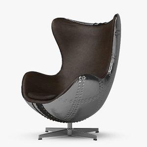 spitfire chair jump seat 3d model