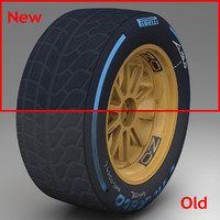 3d max pirelli tyre 18 inches