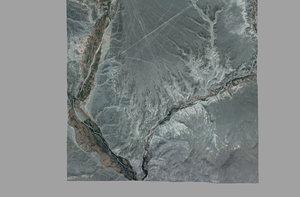3d model mesh nazca valley